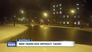 New Years Eve without taxis? - Video