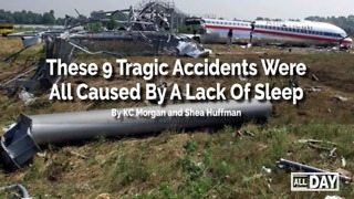 Accidents from lack of sleep - Video