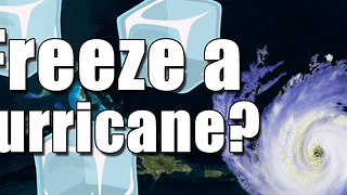 Can you freeze a hurricane? - Video