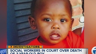 Social workers in court in 3-year-old boy's death - Video
