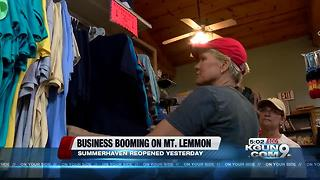 Mt. Lemmon is back in business with road open - Video