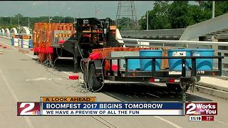 Boomfest begins tomorrow in Jenks - Video