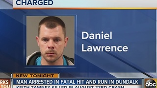 Man charged in fatal hit-and-run in Dundalk - Video