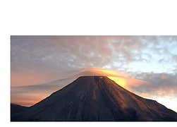 Lenticular Clouds Shroud Mexico's Colima Volcano - Video