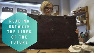 Rescuing history: The book surgeon - Video