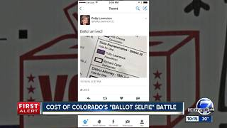 Legal fight over Colorado ballot selfies cost taxpayers nearly $135,000 - Video