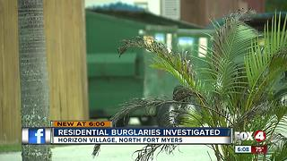 Thieves target 55+ community in North Fort Myers - Video