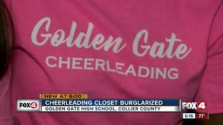 Collier deputies seek four thieves who broke into Golden Gate High School - Video