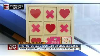 Target recalls Magnetic Tic-Tac-Toe games due to choking and magnet ingestion hazards - Video
