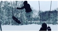 Woman Swings, Launches Right Into Fresh Pile of Snow at Erie School - Video