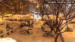 Timelapse Video Captures Crazy Snowfall in Washington - Video
