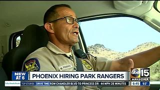 Phoenix hiring more than 20 park rangers - Video