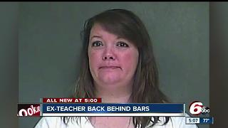 Kisha Nuckols, teacher who slept with students, back in jail on alleged probation violation - Video