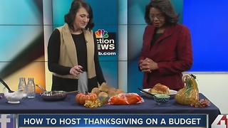How to host Thanksgiving on a budget - Video