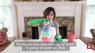 DIY disinfecting wipes - Video