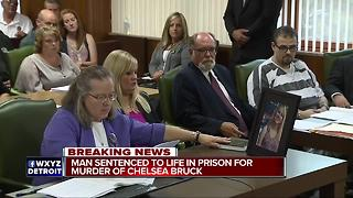 Daniel Clay sentenced to life in prison for murder of Chelsea Bruck - Video