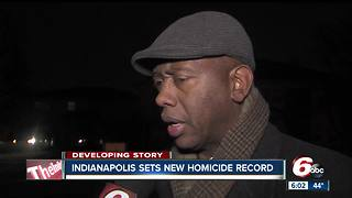 Leader of Ten Point Coalition in Indianapolis says biggest problem causing violence is poverty - Video