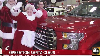 Operation Santa Claus in full swing at ABC15! - Video