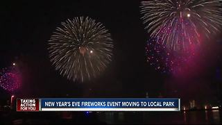 NYE Fireworks move from Channelside - Video