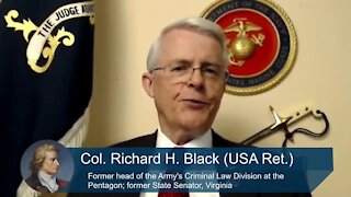 Former JAG Officer Richard Black Warns of a Potential Military Coup on Trump