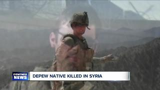 Local native killed fighting ISIS in Syria - Video