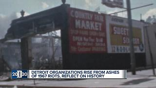 Detroit organizations rise from ashes of 1967 riots, reflect on history - Video