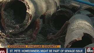 Council member has plan to save St. Pete's sewers - Video