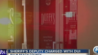 Sheriff's deputy charged with DUI - Video