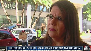 Hillsborough School Board member under investigation - Video