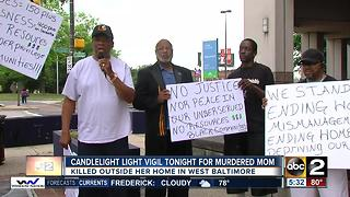 Community to hold candlelight vigil for murdered mother - Video