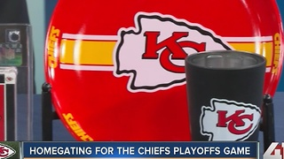 Homegating for the Chiefs Playoff game - Video