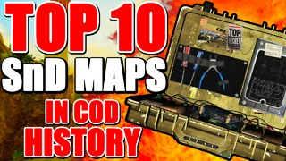 Top 10 Search and Destroy maps in 'Call of Duty' history
