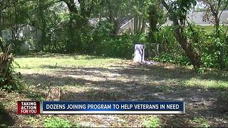 Dozens joining 'Code Vet' program to help veterans in need - Video