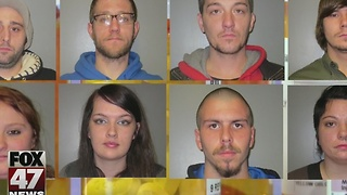 10 people charged in Mid-Michigan opioid ring - Video