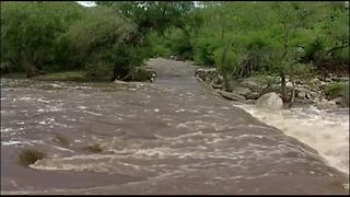 Monsoon affects Sabino Canyon over the years - Video