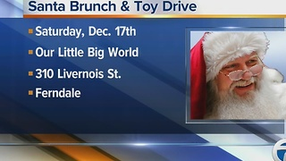 Santa brunch & toy drive - Video