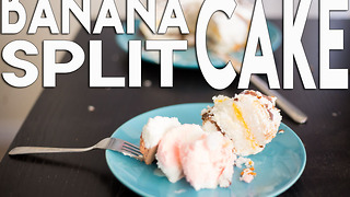 Easy banana split cake recipe - Video