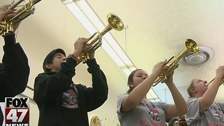 Everette band prepares for inaugural trip - Video