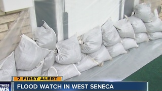 WEST SENECA FLOOD WATCH - Video