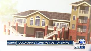 Colorado's climbing cost of living - Video