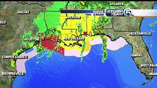 Tropical Storm Cindy makes landfall - Video