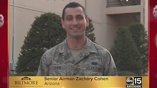Military greetings from Senior Airman Zachary Cohen - Video