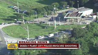 One dead in officer-involved shooting in Plant City - Video