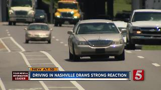Nashville Ranked In List Of Worst To Best Drivers - Video