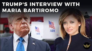 Trump makes the case for fraud in interview with Maria Bartiromo