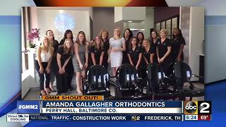 Good morning from Amanda Gallagher Orthodontics
