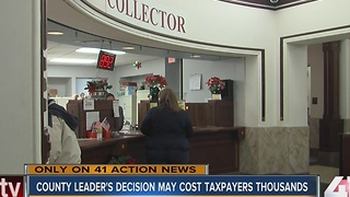 Clay County leader's decision may cost taxpayers thousands - Video