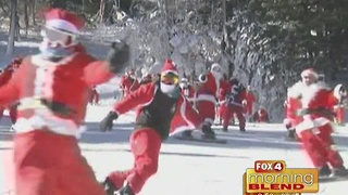 Unlikely Santa sightings across the country 12/21/16 - Video