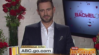 ABC's Newest Bachelor Nick Viall 1/6/17 - Video