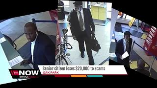 Senior citizen loses $20,000 to scam artists - Video